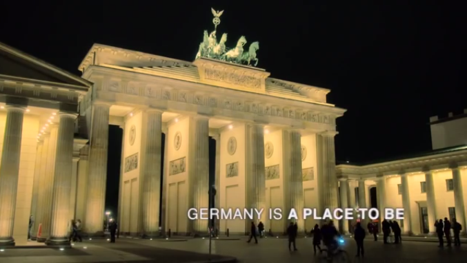 GERMANY IS A PLACE TO BE! (Video)