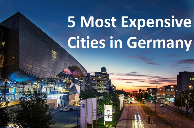 Germany most expensive cities