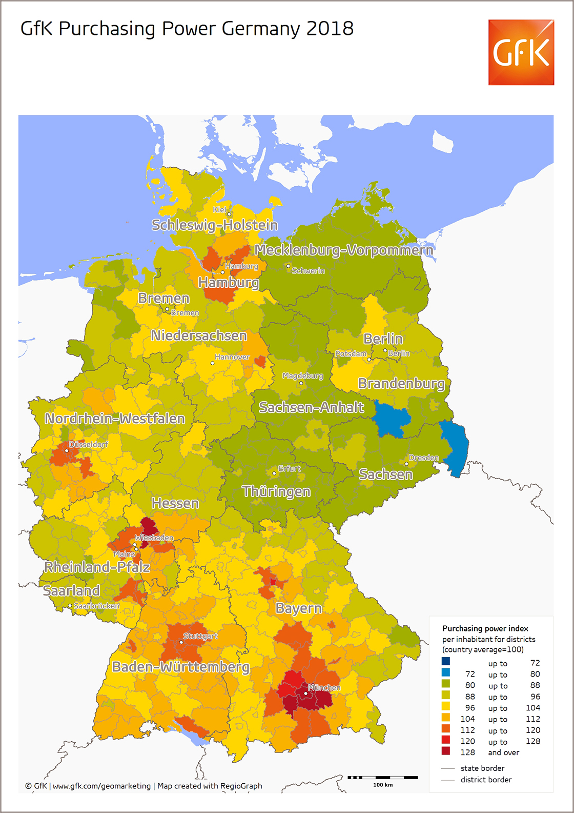 Cost Of Living In Germany Average Cost Of Living In Germany In 2019 - Cost-of-living-us-map